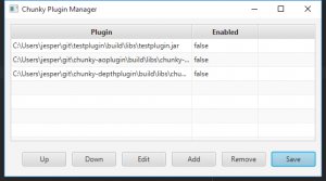 Chunky Plugin Manager