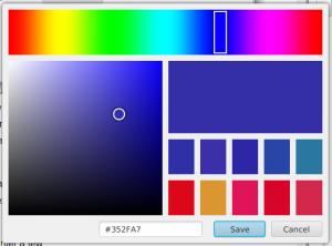 JavaFX Custom Color Picker