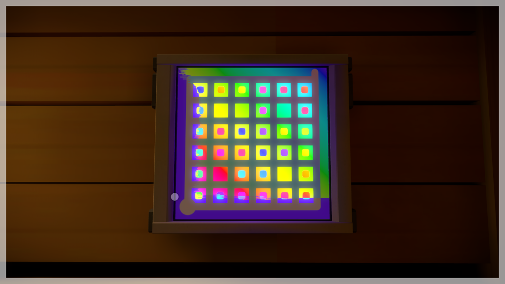 A puzzle in The Witness